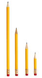 Used broken pencil education business Stock Images