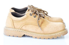 used brown walking shoes Stock Photos