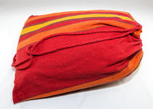 Used Camping Supplies - Hammock in Sack Stock Images