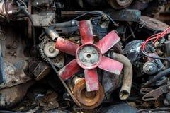 Used car engine Royalty Free Stock Photo