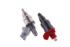 Used car injector Royalty Free Stock Photo