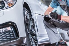 Used Car Maintenance stock images