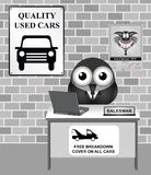 Used Car Showroom Stock Images