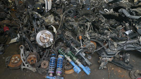 Used car spare parts for sale Royalty Free Stock Image