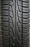Used car tire. Taken close up, can be used as background Stock Photo