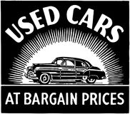 Used Cars At Bargain Prices Royalty Free Stock Image