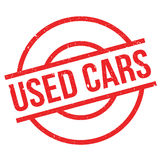 Used Cars rubber stamp Stock Image