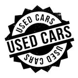 Used Cars rubber stamp Royalty Free Stock Photography