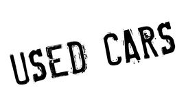 Used Cars rubber stamp Stock Photos
