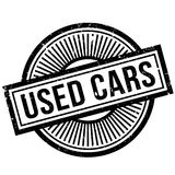 Used Cars rubber stamp Stock Images