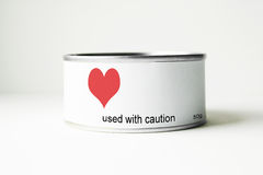 Used With Caution Royalty Free Stock Photo