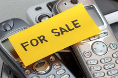Used Cell phones Stock Image