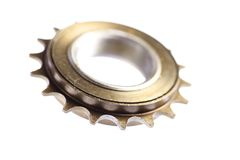 Used chain sprocket Stock Images