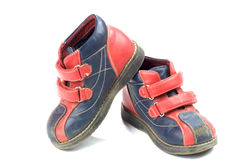 Used child shoes Royalty Free Stock Images