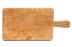 Used chopping board Stock Photography