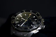 Used chronograph watch Stock Image