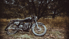 Used Classic Vintage Motorcycle Stock Image
