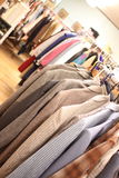 Used clothing Royalty Free Stock Images