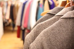 Used clothing Stock Images