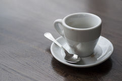 Used coffee cup Royalty Free Stock Photography