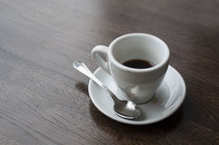 Used coffee cup Royalty Free Stock Image