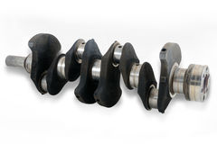 Used crankshaft Royalty Free Stock Images