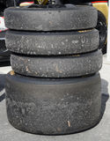 Used DeltaWing Tires Stock Images