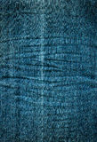 Used denim Stock Image