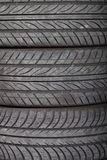 Used, dirty tires Stock Photos