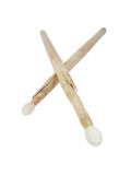 Used drum sticks Stock Image