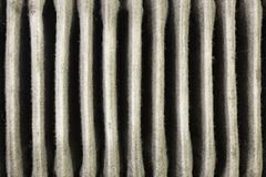 Used element air filter car part Stock Images