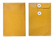 Used envelope Royalty Free Stock Photography