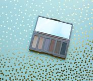 Used eyeshadow Royalty Free Stock Images