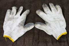 Used fabric glove Stock Photography