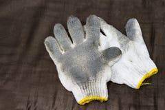 Used fabric glove Stock Photos