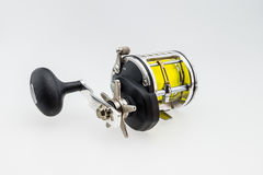 Used  fishing reel Stock Photo