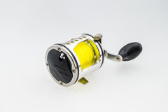 Used  fishing reel Stock Photos