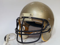 Used Football Helmet Stock Photography