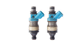 Used fuel injector Royalty Free Stock Photos