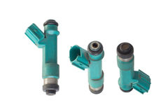Used fuel injector Royalty Free Stock Images