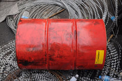 Used Fuel Tank stock photography