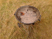 Used grill Stock Photography
