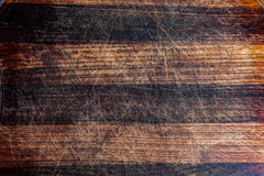 Used grungy wood texture with scratches. Weathered look. Stock Image