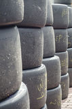 Used High Performance Sport Tyre Royalty Free Stock Photography