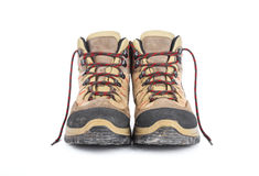 Used hiking boots Stock Photos