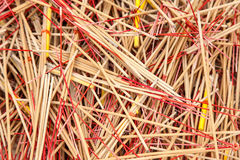 Used incense sticks Royalty Free Stock Photos