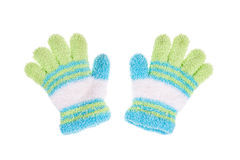 Used knitted glove Stock Photography