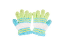 Used knitted glove Royalty Free Stock Photography