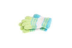Used knitted glove Stock Photo