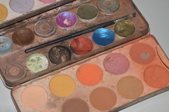 Used makeup kit Stock Photos